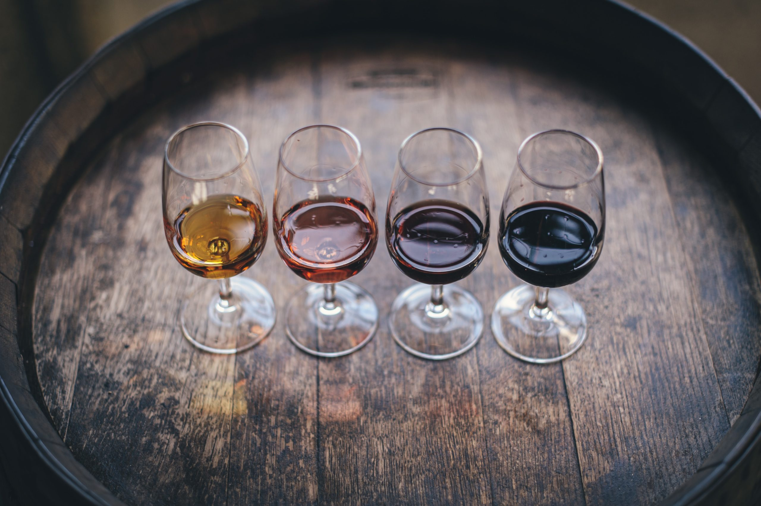 four wine glasses for diversity first winery blog